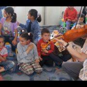 Merlijn Twaalfhoven viool vluchtelingekamp Jordanië